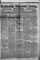 Norddeutsche allgemeine Zeitung (18.03.1887)