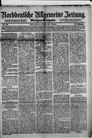 Norddeutsche allgemeine Zeitung vom 18.03.1887