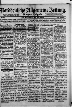 Norddeutsche allgemeine Zeitung vom 19.03.1887