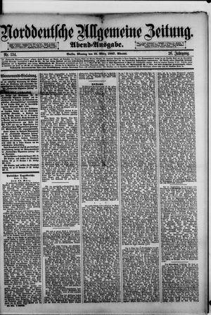 Norddeutsche allgemeine Zeitung vom 21.03.1887