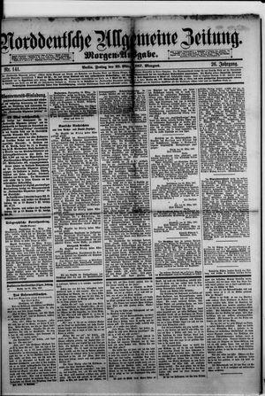 Norddeutsche allgemeine Zeitung vom 25.03.1887