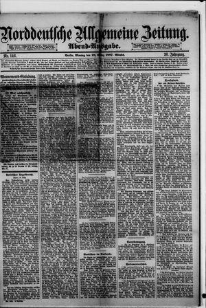 Norddeutsche allgemeine Zeitung vom 28.03.1887