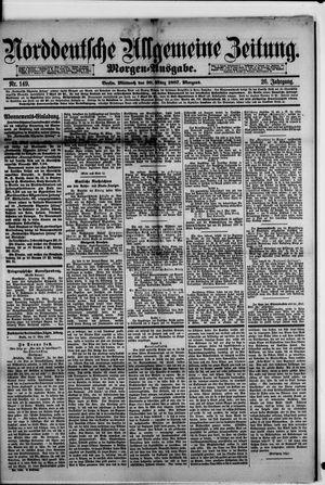Norddeutsche allgemeine Zeitung vom 30.03.1887