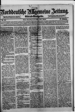 Norddeutsche allgemeine Zeitung vom 31.03.1887