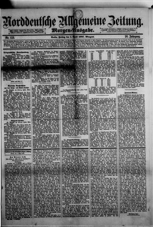 Norddeutsche allgemeine Zeitung vom 01.04.1887