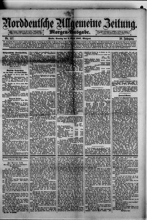 Norddeutsche allgemeine Zeitung vom 03.04.1887