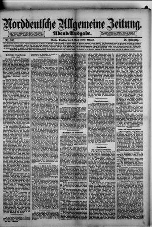 Norddeutsche allgemeine Zeitung vom 05.04.1887
