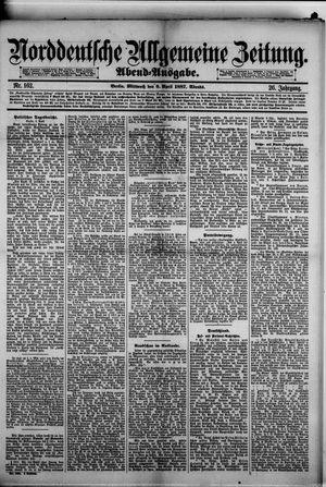 Norddeutsche allgemeine Zeitung vom 06.04.1887