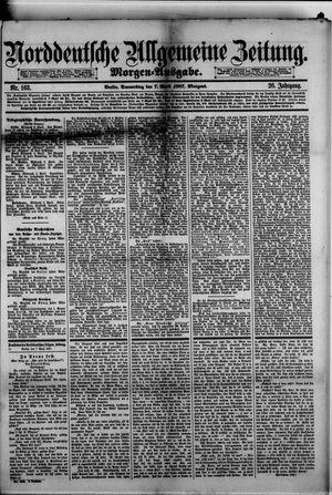 Norddeutsche allgemeine Zeitung vom 07.04.1887