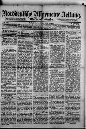 Norddeutsche allgemeine Zeitung vom 08.04.1887