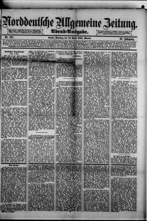 Norddeutsche allgemeine Zeitung vom 12.04.1887