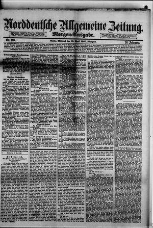 Norddeutsche allgemeine Zeitung vom 13.04.1887