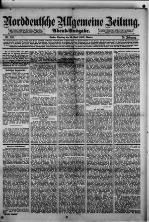 Norddeutsche allgemeine Zeitung vom 19.04.1887