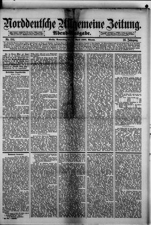 Norddeutsche allgemeine Zeitung vom 21.04.1887