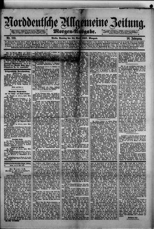 Norddeutsche allgemeine Zeitung vom 24.04.1887