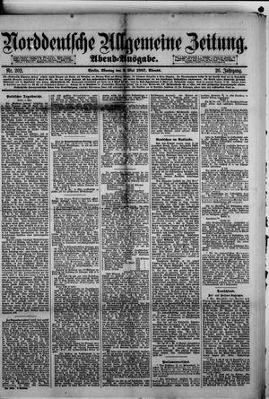 Norddeutsche allgemeine Zeitung vom 02.05.1887