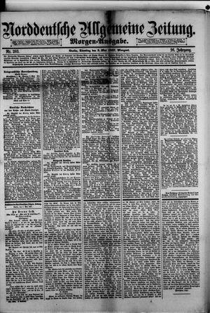 Norddeutsche allgemeine Zeitung on May 3, 1887