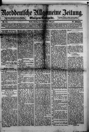 Norddeutsche allgemeine Zeitung vom 08.05.1887