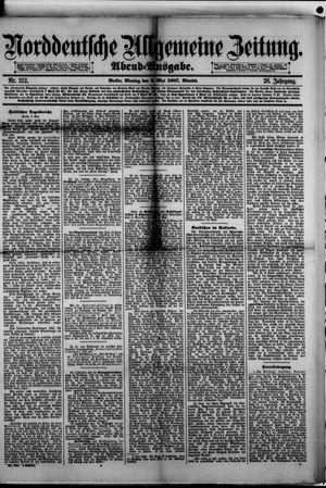 Norddeutsche allgemeine Zeitung vom 09.05.1887