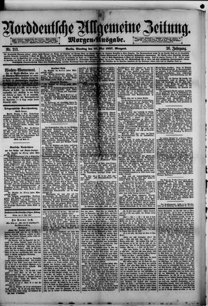 Norddeutsche allgemeine Zeitung vom 10.05.1887