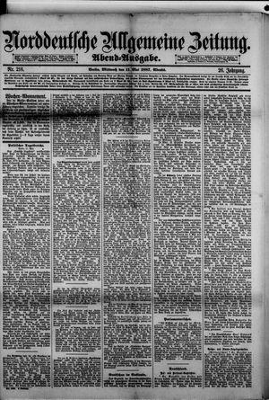 Norddeutsche allgemeine Zeitung vom 11.05.1887