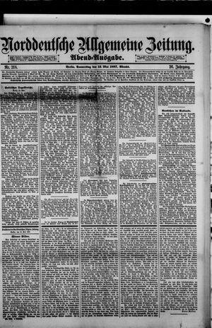 Norddeutsche allgemeine Zeitung vom 12.05.1887