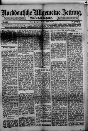 Norddeutsche allgemeine Zeitung vom 13.05.1887