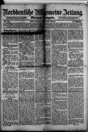 Norddeutsche allgemeine Zeitung vom 14.05.1887