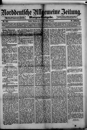 Norddeutsche allgemeine Zeitung vom 17.05.1887