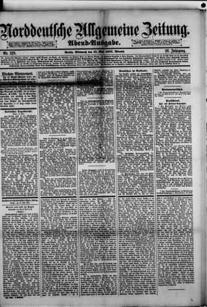 Norddeutsche allgemeine Zeitung vom 18.05.1887