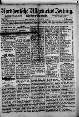 Norddeutsche allgemeine Zeitung on May 19, 1887