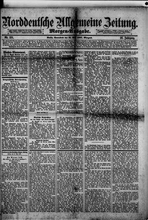 Norddeutsche allgemeine Zeitung vom 21.05.1887
