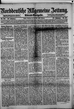 Norddeutsche allgemeine Zeitung vom 24.05.1887