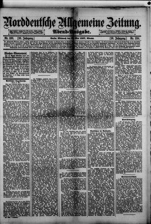 Norddeutsche allgemeine Zeitung vom 25.05.1887