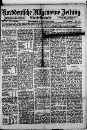 Norddeutsche allgemeine Zeitung vom 28.05.1887