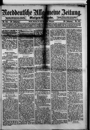 Norddeutsche allgemeine Zeitung vom 29.05.1887