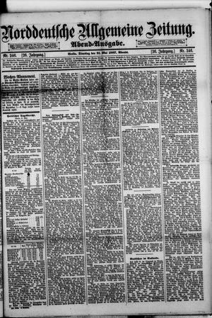 Norddeutsche allgemeine Zeitung vom 31.05.1887