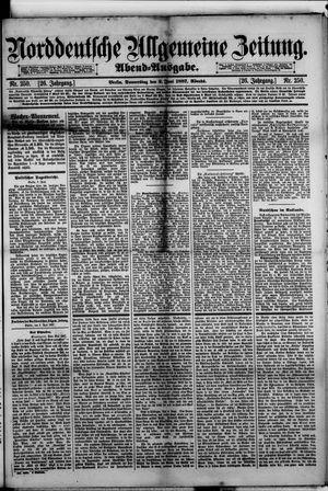 Norddeutsche allgemeine Zeitung on Jun 2, 1887