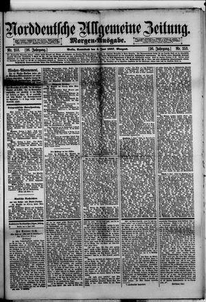 Norddeutsche allgemeine Zeitung vom 04.06.1887