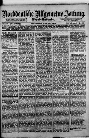Norddeutsche allgemeine Zeitung vom 06.06.1887