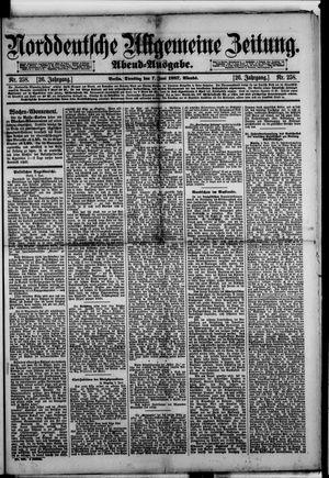 Norddeutsche allgemeine Zeitung vom 07.06.1887
