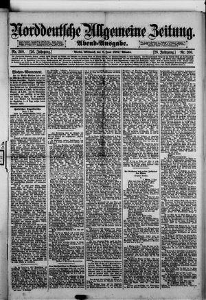 Norddeutsche allgemeine Zeitung vom 08.06.1887
