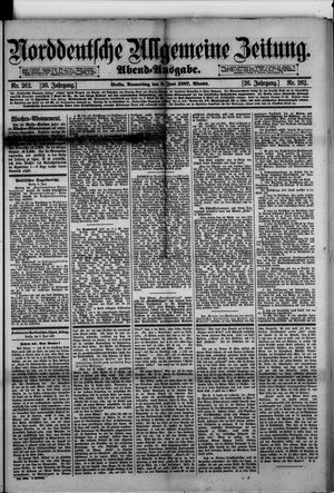 Norddeutsche allgemeine Zeitung vom 09.06.1887