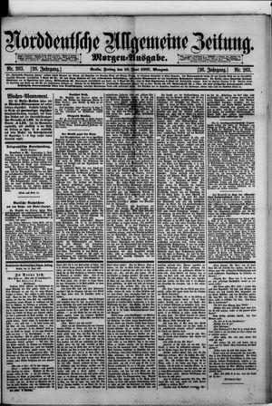 Norddeutsche allgemeine Zeitung on Jun 10, 1887