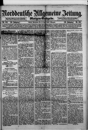 Norddeutsche allgemeine Zeitung vom 11.06.1887