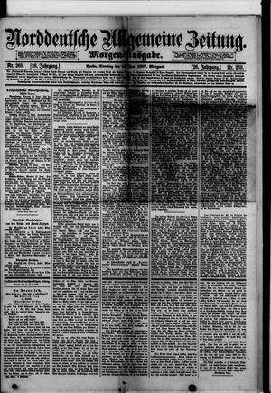 Norddeutsche allgemeine Zeitung vom 14.06.1887