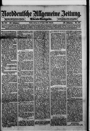 Norddeutsche allgemeine Zeitung on Jun 17, 1887