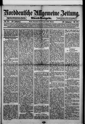 Norddeutsche allgemeine Zeitung vom 18.06.1887