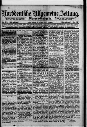 Norddeutsche allgemeine Zeitung vom 19.06.1887