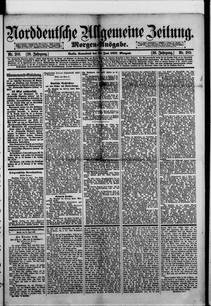 Norddeutsche allgemeine Zeitung vom 25.06.1887